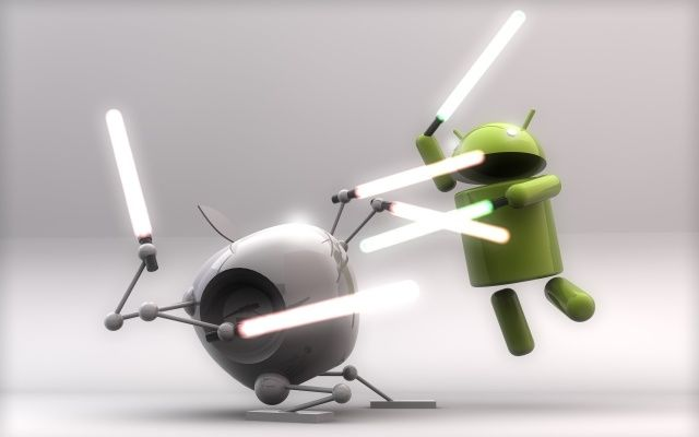 Apple-and-Android-duell