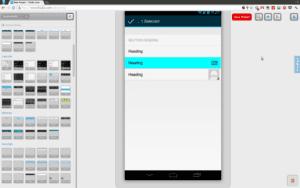 Mobile-Anwendung-FluidUI