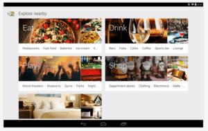 screenshot von web app