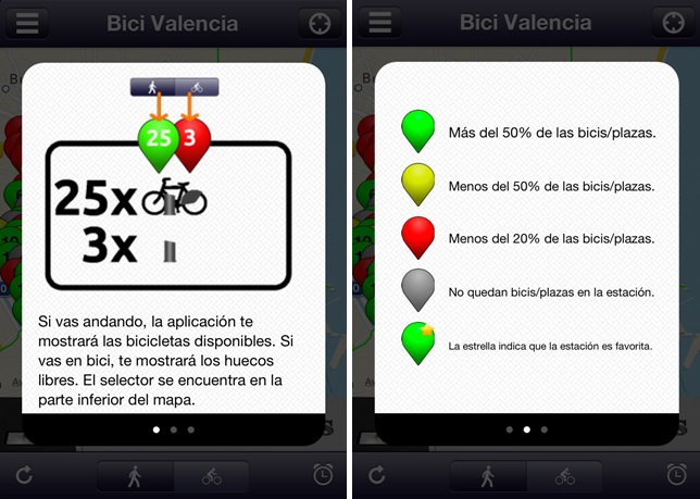 bici valencia screenshots