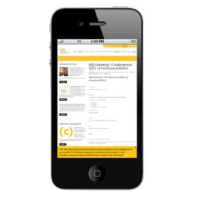 schwarzes iphone mit app