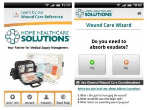 gesundheitsapp home healthcare solutions screenshots