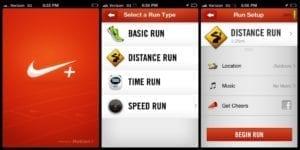 nike running app screenshot