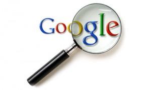 lupe auf google logo