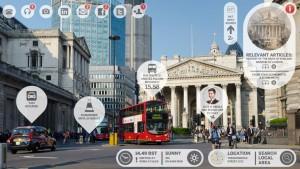 erweiterte realitaet app in london