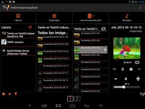screenshot von design einer app