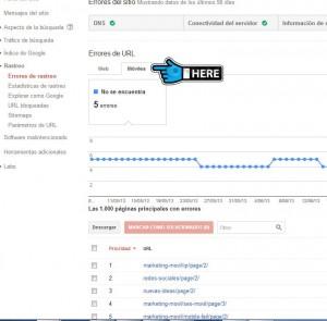screenshot webmaster tool