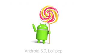 android maennchen haelt lollipop