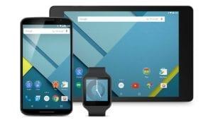smartwatch tablet smartphone
