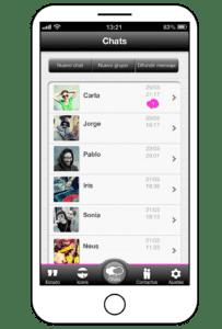 screenshot von chats
