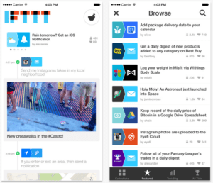 mobile App bildschirm screenshots