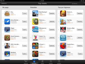 mobile apps im app store