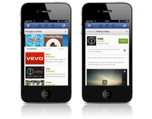 apps auf zwei schwarzen iphones