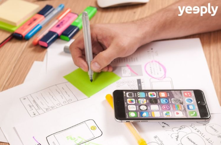 mockups- ux app design