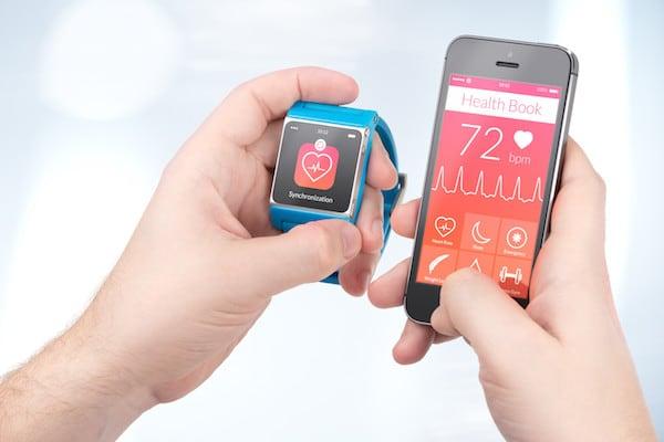 gleiche app auf iphone und smartwatch