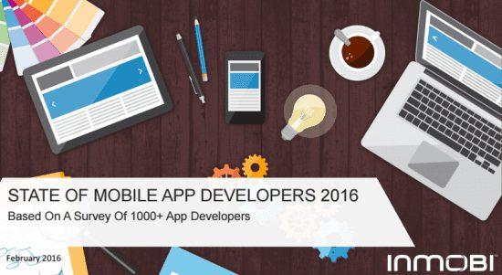darstellung app entwickler 2016 mit laptop ipad smartphone gluehbirne