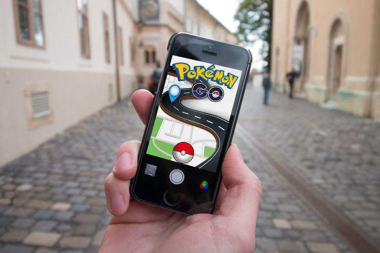 pokemon go applikation