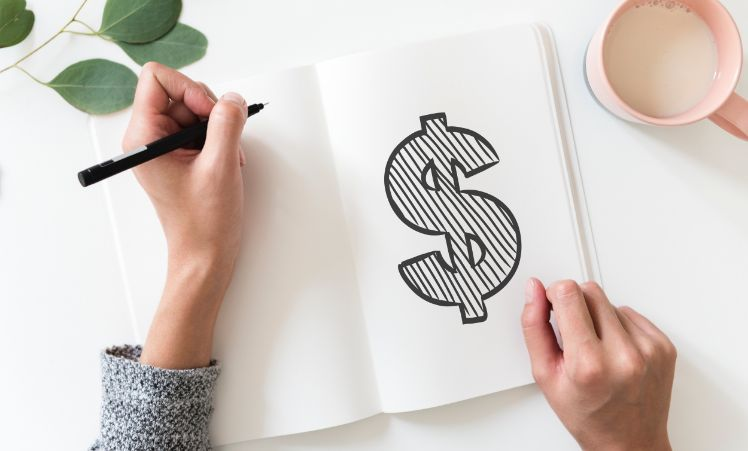 notizbuch- geld verdienen mit app entwicklung