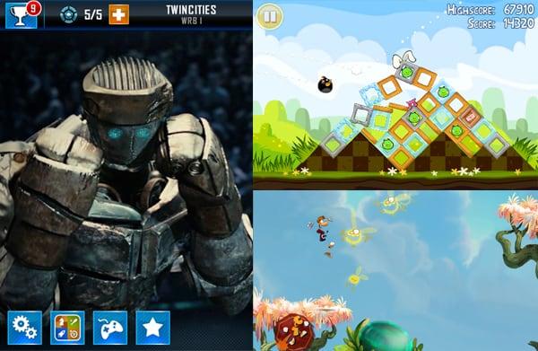 screenshot von action spielen