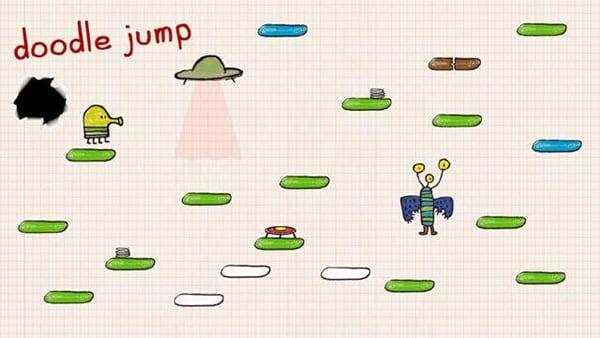 doodle jump spiel