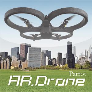 Drohnen-App Parrot AR.Drone schaubild