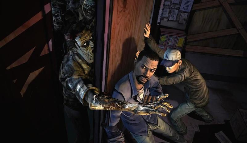 Halloween-Apps The Walking Dead: The Game