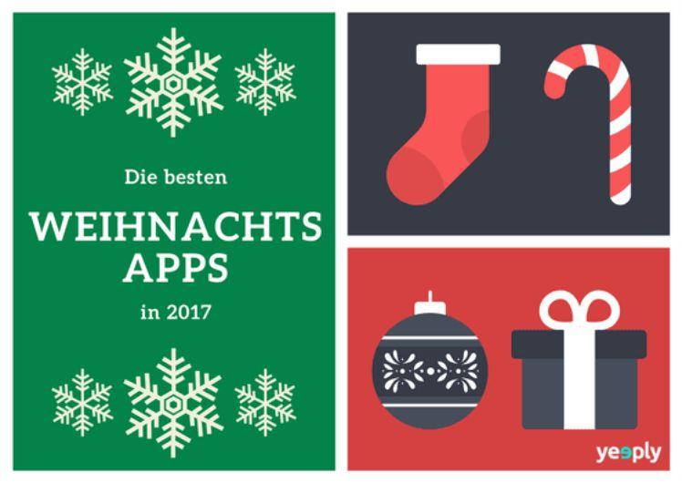 Die besten Weihnachtsapps für dieses Jahr