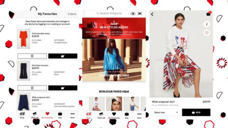 screenshot drei smartphone bildschirme mit hum app