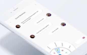 Chat auf Smartphone